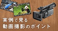 実例で見る動画撮影のポイント