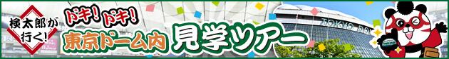 東京ドーム内見学ツアー