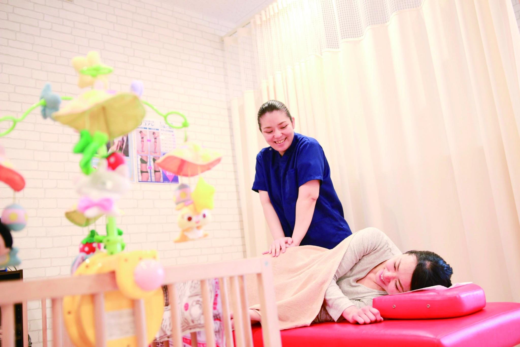 産後の骨盤施術に自信があります