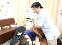産後の骨盤矯正もお任せ下さい。お子様連れも大歓迎です!