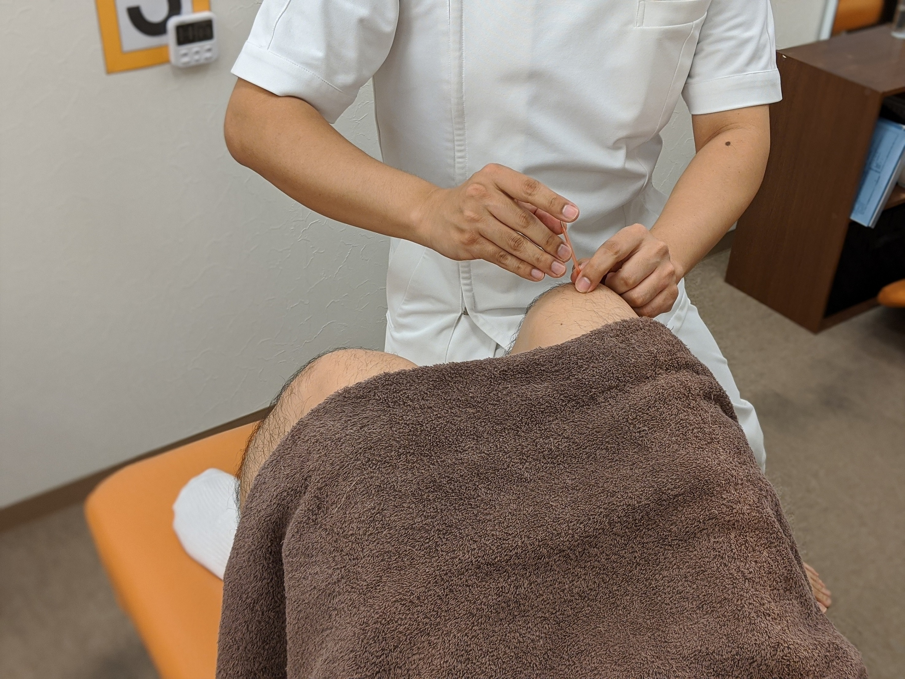 慢性的な症状には鍼灸治療!!