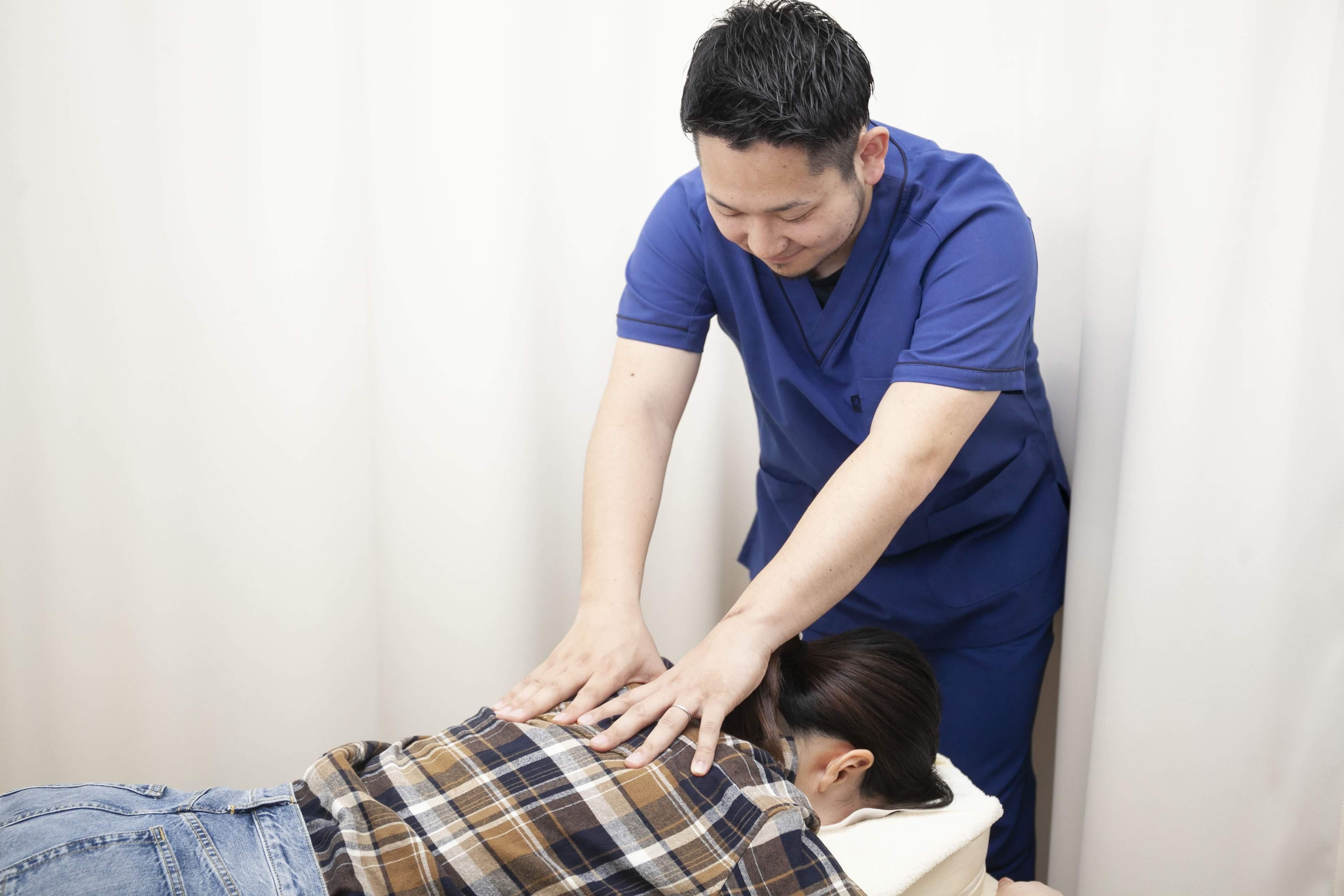 交通事故による怪我に対する施術実績多数!