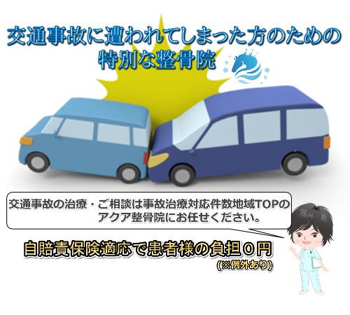 交通事故施術への取り組み