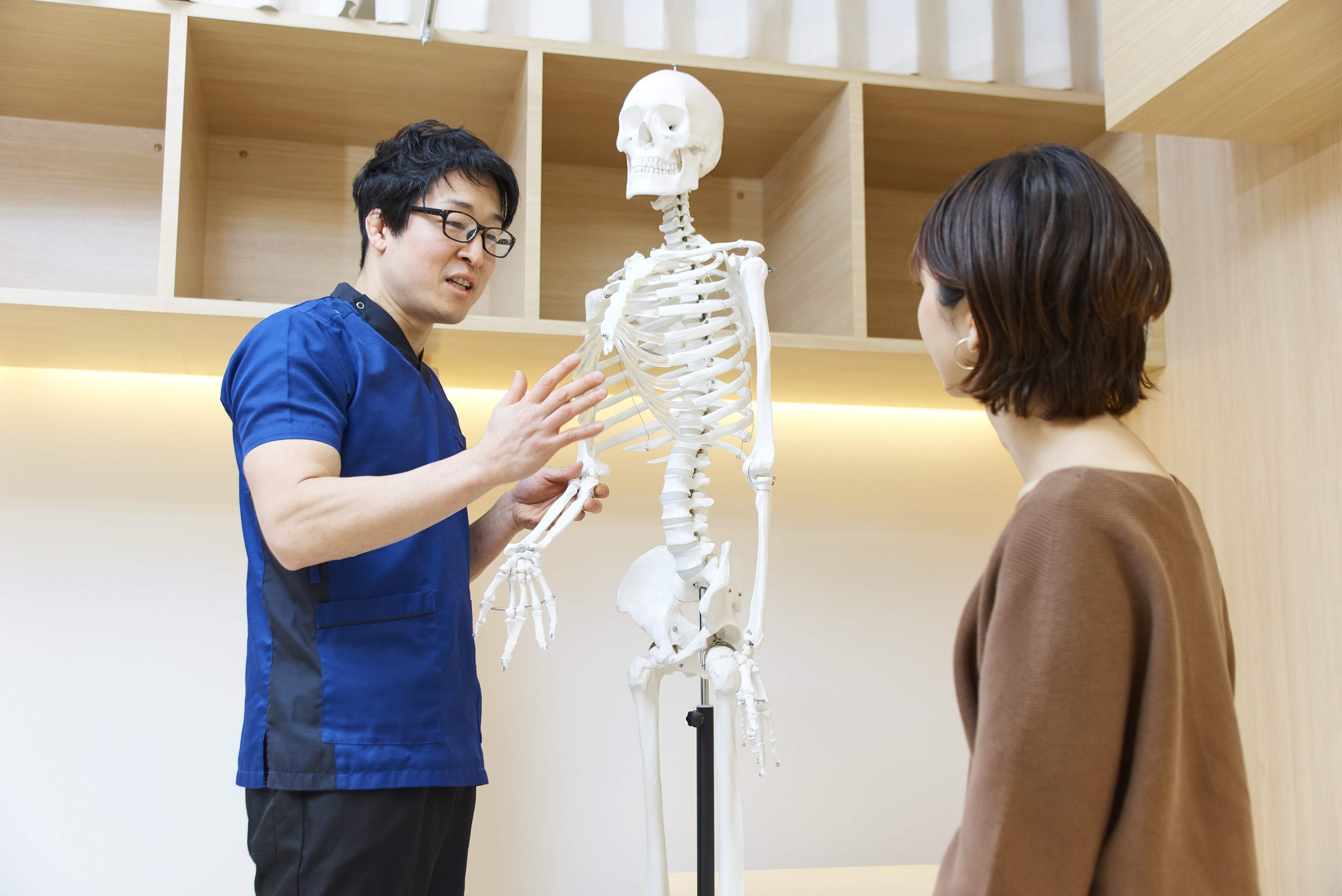 国家資格者である体の専門家がしっかりと診させて頂きます