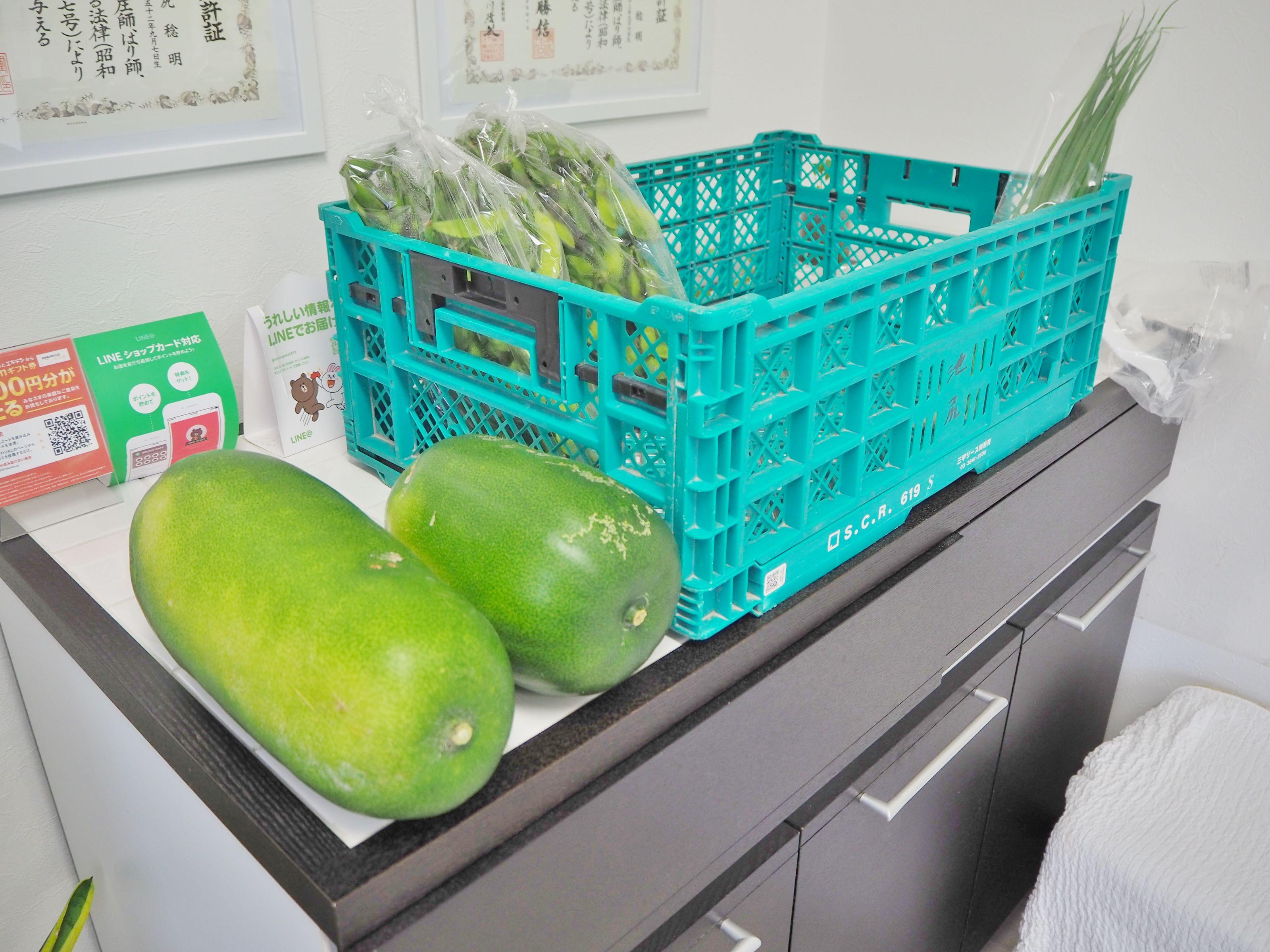 東灘区で初!野菜の販売を行っています