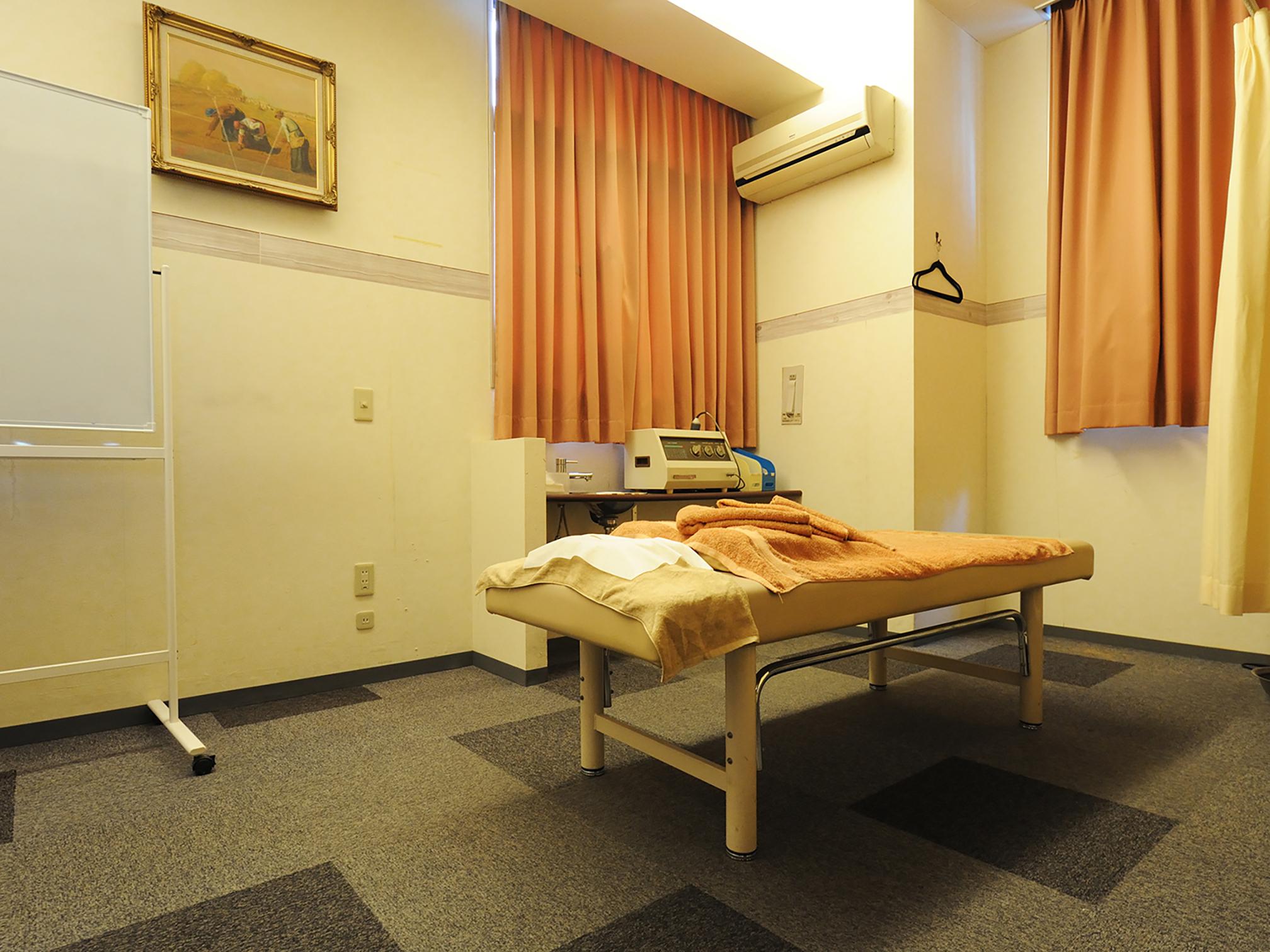 骨格治療整体の個室