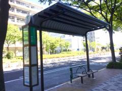 「ホテルマリナーズコート東京前」バス停留所