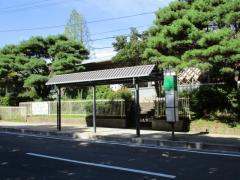 「東北大川内キャンパス・萩ホール前」バス停留所
