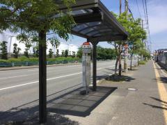 「青木」バス停留所