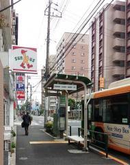 「江戸川高校前」バス停留所