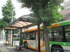 「駒込病院前」バス停留所