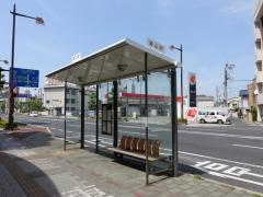 「清心町」バス停留所