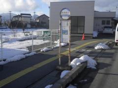 「風間西口」バス停留所