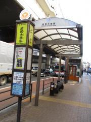 「池尻大橋駅」バス停留所