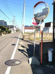 「川島口」バス停留所