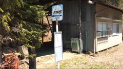 「大古井神社前」バス停留所
