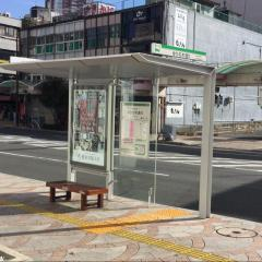 「ゆりの木通り」バス停留所
