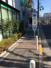 「等々力」バス停留所