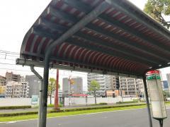 「甲東中学校前」バス停留所