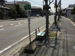 「中央通」バス停留所