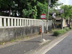 「長良八代公園前」バス停留所