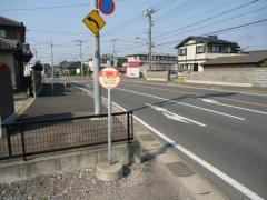 「郡本」バス停留所