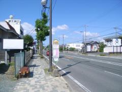 「ホワイトストリート」バス停留所