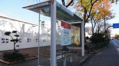 「千早小学校」バス停留所