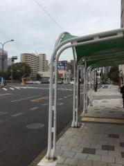 「新生田川」バス停留所