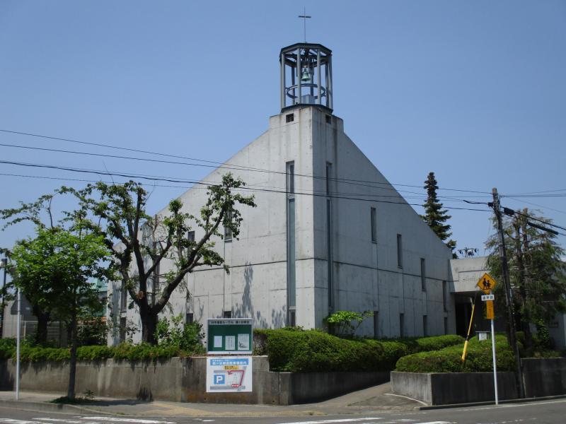 鶴ヶ谷教会_施設外観