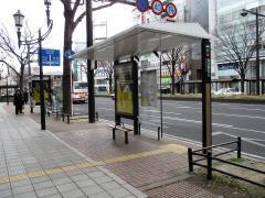 「仙台駅前」バス停留所