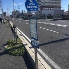 「常磐小学校」バス停留所
