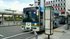 「沼津駅」バス停留所