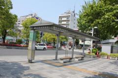 「平井駅前」バス停留所