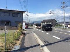 「白土入口」バス停留所