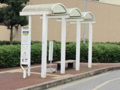 「市立青葉病院」バス停留所