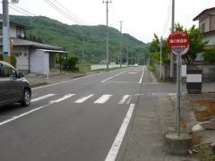 「鴻の巣温泉」バス停留所