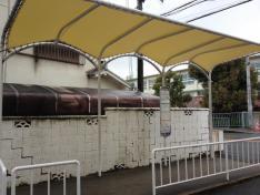 「津田西町」バス停留所