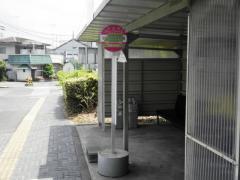 「小山市民病院前」バス停留所