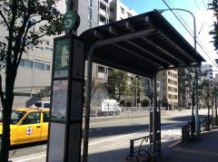 「押上」バス停留所