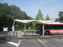 「鞍ケ池東」バス停留所
