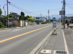 「丹波島宮前」バス停留所