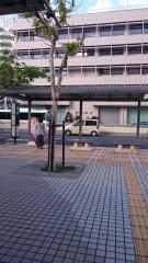 「パレットくもじ前」バス停留所