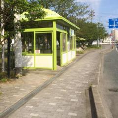 「弥生橋」バス停留所