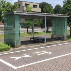 「JR鵜沼駅前」バス停留所
