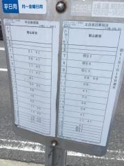 「昭和町北」バス停留所