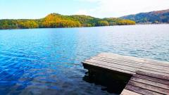 信州北の安曇野青木湖畔の宿ブルーレイク