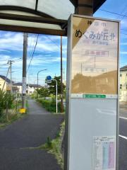 「めぐみが丘北」バス停留所