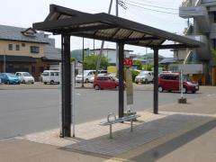 「愛子駅」バス停留所
