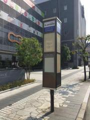 「山形市役所前」バス停留所